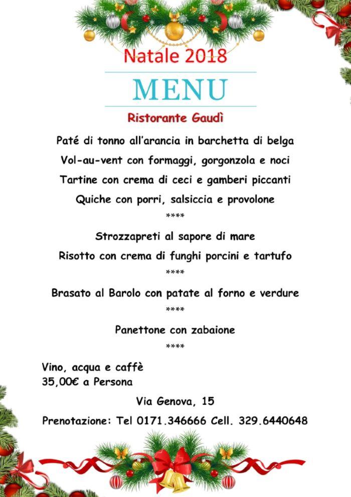 Menu Di Natale Carne.Menu Di Natale Specialita Pesce E Carne Alla Griglia A Cuneo